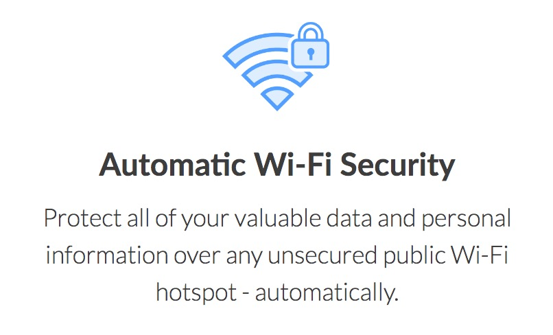 What is a VPN connection wifi securty